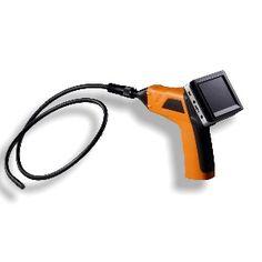"""http://www.termometer.se/Handinstrument/Inspektionskamera/Tradlos-vattentat-inspektionskamera-IP67-35.html  Trådlös vattentät inspektionskamera (IP67) 3,5  Egenskaper:   Löstagbar trådlös färgskärm med upp till 10m räckvidd. Video och stillbilder med datum-/tidstämpel kan spelas upp på den trådlösa bildskärmen eller på din dator (JPEG) och (AVI). 9 mm:s diameter på kamerahuvud med 1 m flexibel """"svanhals"""" kameratub som bibehåller den förkonfigurerade formen. Video och bilder kan..."""