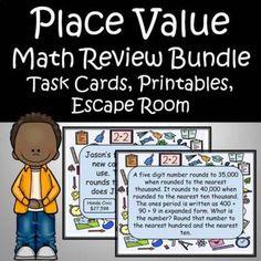 4th Grade Math, Kindergarten Math, Elementary Teacher, Elementary Schools, Mega Math, Math Assessment, Math Word Problems, Math Fractions, Place Values