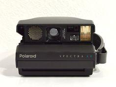 Polaroid Spectra Autofocus with Close-Up Lens by ReCreative85