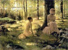 dipinto di Albert Edelfelt