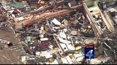 Tornadoes tear through counties across Okla. ....Support & Pray for those in need here.  May be 24 children in the remains  of this school. It is now a reocovery effort :((