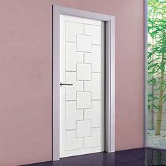 The stunning prefinished San Rafael Lacada 948 FD30 Fire Door with panel designs. #lacadadoors