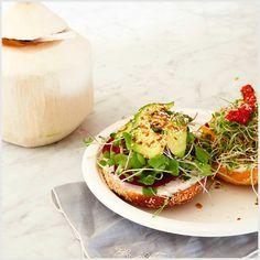 #recette : Le bagel végétalien