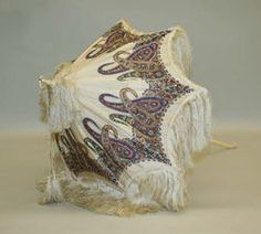 1860's American Parasol-  made of silk, ivory & metal. by metmuseum.org