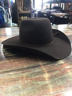 5fb7c383ee52f Twister Youth Punchy Wool Cowboy Hat- Brown