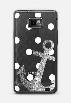 22 best samsung galaxy phone cases images galaxy s5 case, phoneclassic snap samsung galaxy s ii case glitter anchor with dots in silver casetify android phone casesphone
