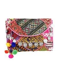 Image result for diy embellished  boho clutch
