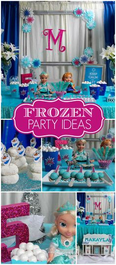 This Frozen party is