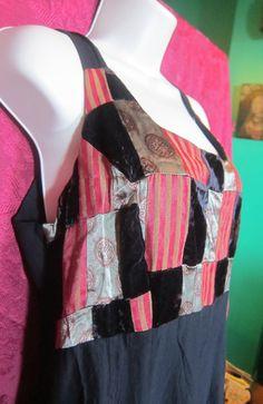 Wonderful Patchwork Vintage Dress by BrooklynBoudoir on Etsy