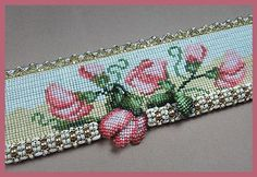 Hey SweetPea Bead Loom Cuff Pattern
