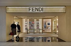 The new Fendi boutique in Matsuya Ginza (Tokyo)