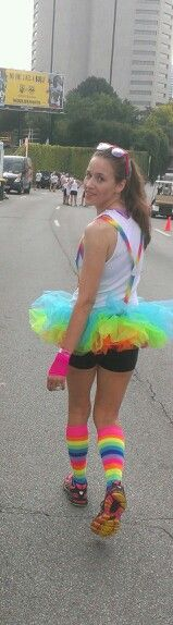 The Color Run outfits rock!!