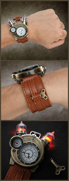 Awesome Steampunk Watch!!