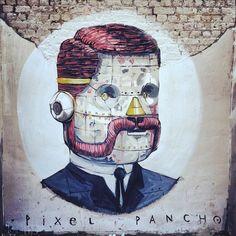 Pixel Pancho debulhando