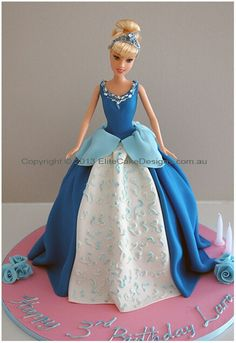 112 Best Doll Cakes Images In 2019 Fondant Cakes Barbie Cake Barbie