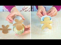 Frolla e Biscotti Pan di Zenzero ricetta facile - Gingerbread dough and Cookies Recipe - YouTube