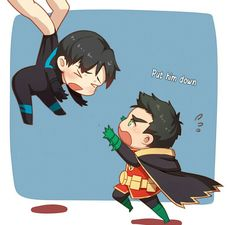 Nightwing & Robin