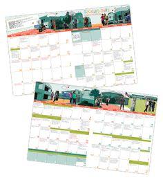 Calendar of Events, InDesign CS6
