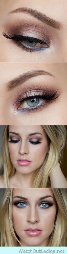 Make your blue eyes pop with this tutorial
