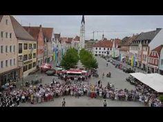 Sternmarsch zum Volksfest Pfaffenhofen 2016