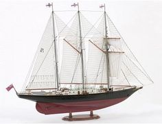 The Billing Boats 1/75 Sir Winston Churchill wooden ship model measures 63.5cm long, 51.5cm high and 11cm wide. This wooden boat kit is highly realistic with many fine details.