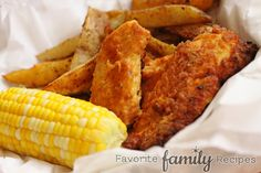 Oven Fried Chicken (favorite family recipes) on MyRecipeMagic.com