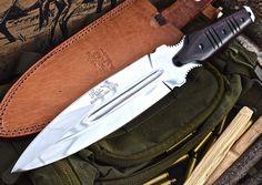 CFK USA Ipak Survival Custom Handmade D2 Crusader Spec Ops Dagger V2 Knife 2nd | eBay