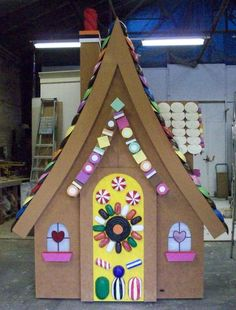 Hansel and Gretel gingerbread house - Royal Academy of Music