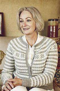 "Ravelry: Nr 2 ""Fana"" kofte med rundt bærestykke pattern by Sandnes Design Sweater Knitting Patterns, Cardigan Pattern, Norwegian Knitting Designs, Nordic Sweater, Country Fashion, Vintage Knitting, Double Knitting, Cute Fashion, Ikon"