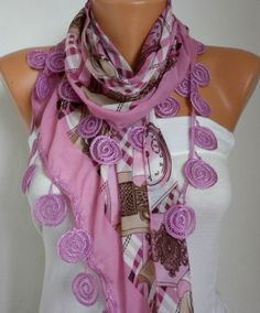 Scarf Scarves Fashion ***  BIG SALE - 50% OFF  ***  fatwoman & anils