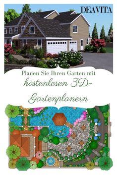 Luxury Wir stellen Ihnen in diesem Artikel ein paar einfache und kostenlose d Gartenplaner vor sowie