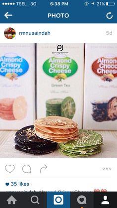 Oleh Oleh Nusantara  Almond Crispy Cheese Surabaya