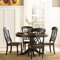 Superb The Design Of This Dining Set From Mackenzie Captures The Essence Of A  Casual Country Home. More Information. More Information. Kenton II 5 Pc.