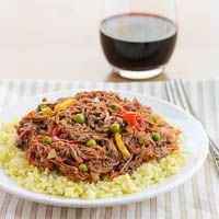 Ropa Vieja Recipe for #SundaySupper  Not Salvadoran food but my mom makes this Cuban dish so well!  She is great cant wait to make it myself!