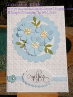 Gwens Cards n Stamps in Bloom 2: Sunny Challenges 77/13
