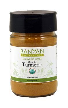 Turmeric, org (3.40 oz Spice Jar) $6.95