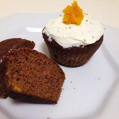 Fit Food Ideas: Muffin de Abóbora & Especiarias