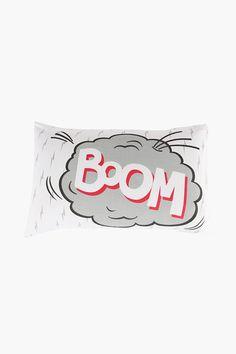 Polyester Boom Pillowcase - Pillowcases - Kids Bed & Bath - Shop K