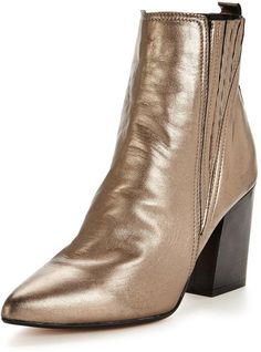 Carvela Slate Metallic Ankle Boot