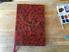 How to create your own book binding/bookcover.