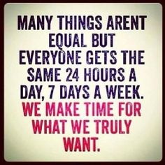 We all have the same 24 hours a day.... | Quotes | Pinterest | We ...