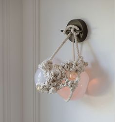 KNOTTY BUBBLES SCONCE Designed by Lindsey Adelman | Switch Modern http://www.switchmodern.com//wall-and-ceiling-lamps/roll-and-hill-knotty-bubbles-sconce.asp
