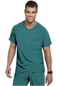 Greys Anatomy mens v-neck scrub top. - Scrubs and Beyond Scrubs Outfit, Scrubs Uniform, Men In Uniform, Dental Scrubs, Medical Scrubs, Greys Anatomy Men, Healthcare Uniforms, Mens Tunic, Jockey Mens