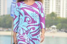 Ciel Blue from Hawaii. Blue Hawaii, Inspiration, Color, Tops, Dresses, Design, Women, Style, Fashion