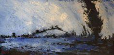 Wittenham Clumps from Long Wittenham 2 by Bruce Bignold