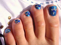 Más de 40 fotos de uñas decoradas para Pies – Foot nails | Decoración de Uñas…