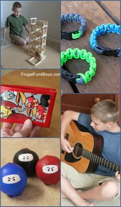 Tween boys (age 9-12ish) can be a tough group to please.  This post is FULL of ideas that kids this age might like to do - great ways to get beyond the screens and get active and busy!