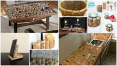 Cool DIY wine cork crafts and decorations Cool DIY wine cork crafts and decorations Wine corks are considered as waste material and mercilessly discarded immediately after use. However, there are masters who, from simple wine corks, create… Wine Cork Wreath, Wine Cork Art, Wine Cork Crafts, Wine Corks, Jar Crafts, Cardboard Crafts, Wooden Crafts, Cool Diy, Nifty Diy