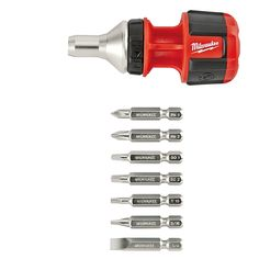 Compact 8IN1 Ratchet Multi Bit Driver | Milwaukee Tool
