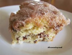 The Country Cook: Chocolate Chip Coffee Cake (with a secret!)